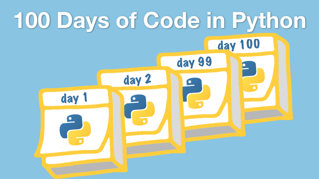 Episode #140 Level up your Python with #100DaysOfCode