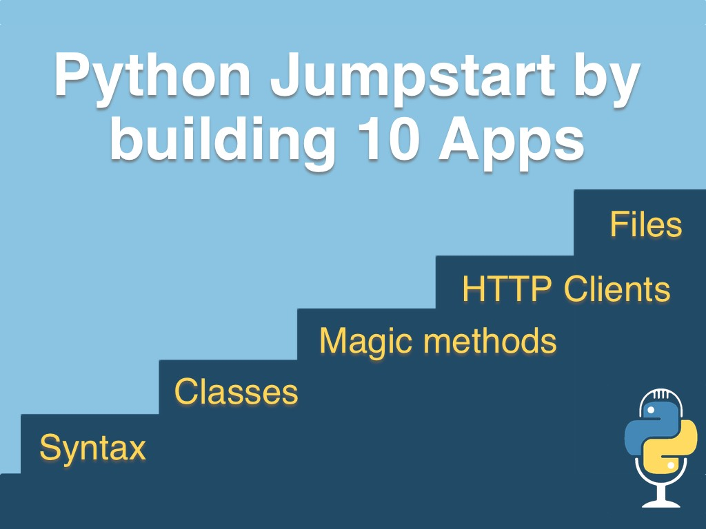 Course: Python Jumpstart by Building 10 Apps